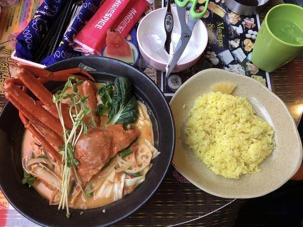 「限定北海道ズワイ蟹のスープカレー」@マジックスパイス 下北沢店の写真