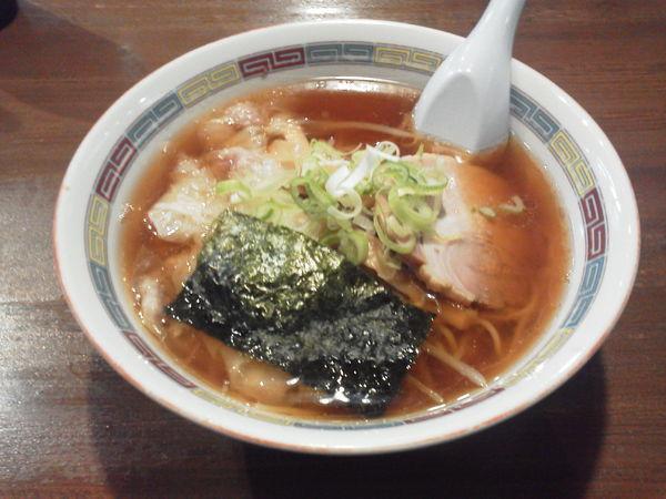 「ワンタン麺 710円」@宝華らぁめん 国分寺店の写真