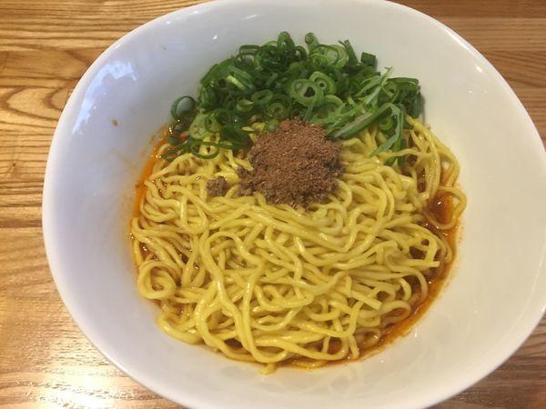 「汁なし担々麺:550円」@汁なし担々麺 麻沙羅の写真