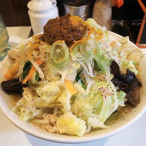 「玉カレー味噌たんめん(太麺・並)」@麺処 まるよし商店の写真