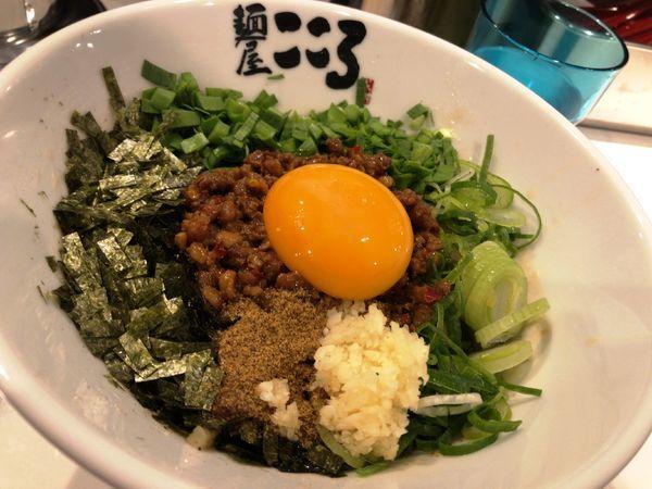 「台湾まぜそば」@麺屋こころ 船橋店の写真