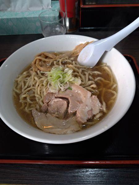 「ラーメン」@自家製太麺渡辺の写真