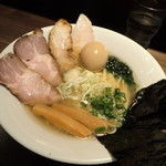 「特製伊勢海老ラーメン(塩)(1000円)」@つけ麺 一燈の写真