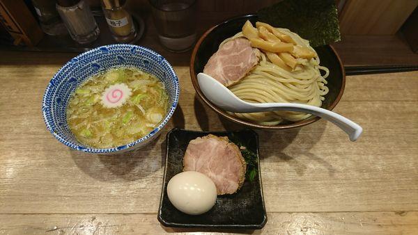「得製つけ麺   大盛」@舎鈴 エキュート赤羽店の写真