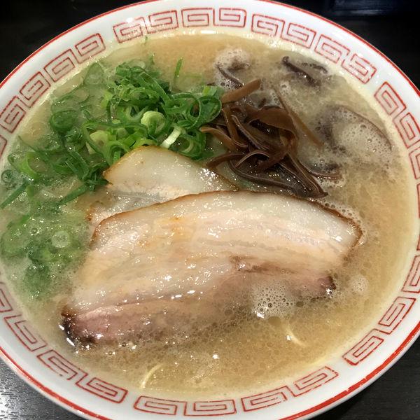 「博多ラーメン 680円」@博多らーめん 濱田屋 北千住店の写真