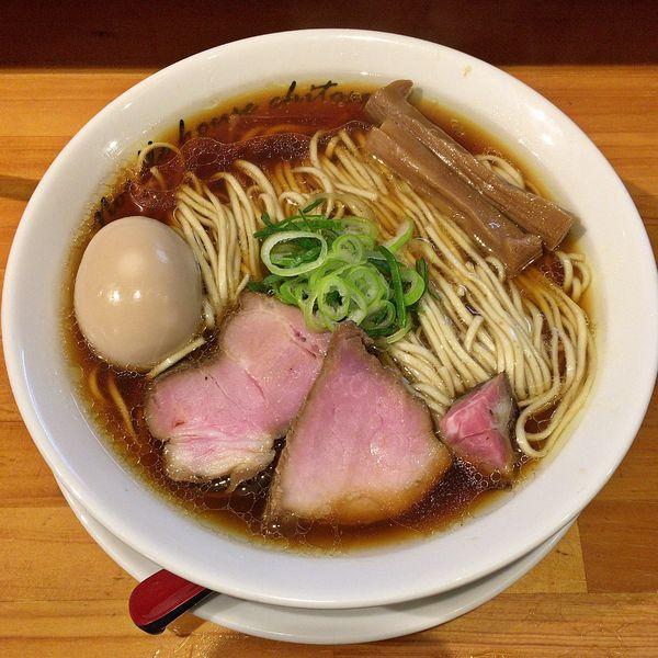 「醤油 煮玉子(中盛)¥910」@麺庵ちとせの写真