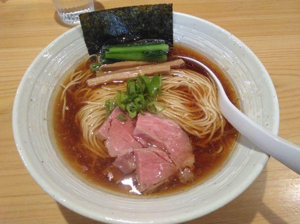 「らぁ麺 醤油」@麺屋 さくら井の写真