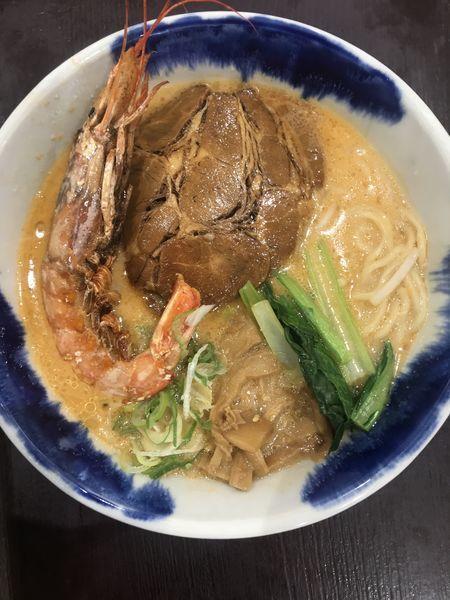 「海老味噌らーめん」@麺屋 空海 イオンモール北戸田店の写真