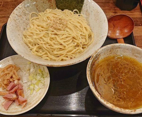 「カレーつけ麺890 大盛100」@麺屋 葵の写真