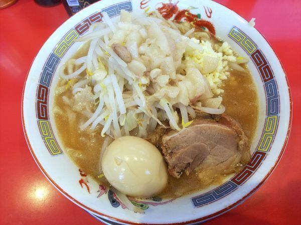 「ラーメン並盛り ニンニクアブラ味玉 780円」@ジャンプの写真