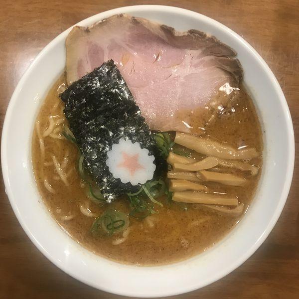 「辛ラーメン (麺硬め、大辛)」@麺匠うえ田の写真