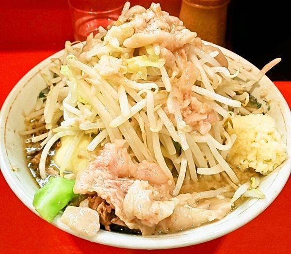 「小ラーメン+チーズ」@ラーメン二郎 府中店の写真