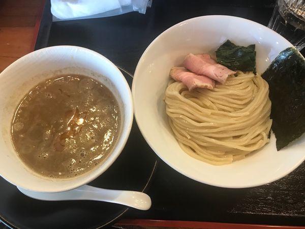 「濃厚煮干しつけ麺」@麺創 なな家の写真
