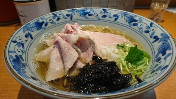 「煮干し中華そば 肉まし」@㐂九八 ~garage~の写真