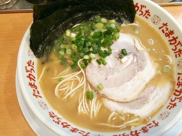 「らぁめん+海苔」@九州大分らぁめん たまがった 西口店の写真