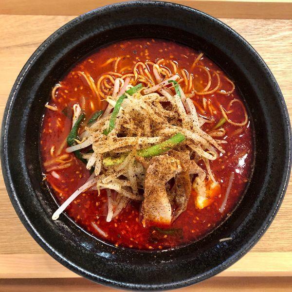 「【限定】台湾らぁ麺 (900円)」@鶏と魚の写真