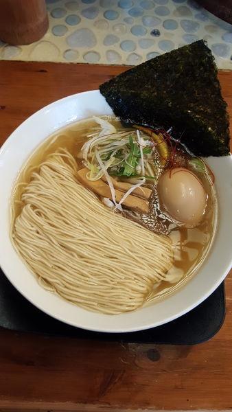 「ゆずしお 麺硬 味玉」@麺や食堂の写真
