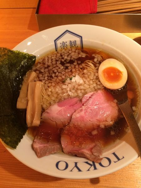 「特製琥珀(淡麗醤油)1100円」@楽観 NISHIAZABU GOLDの写真