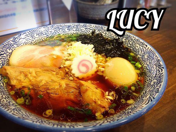 「汁そば(醤油)¥750」@汁そば LUCY ルーシーの写真