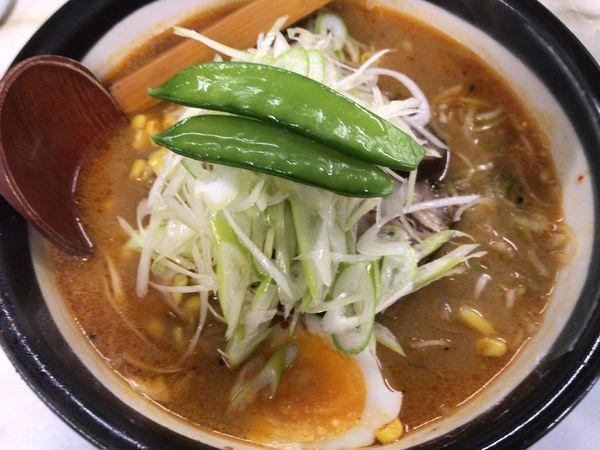 「味噌ネギラーメン・細麺850円」@ラーメン 日高の写真