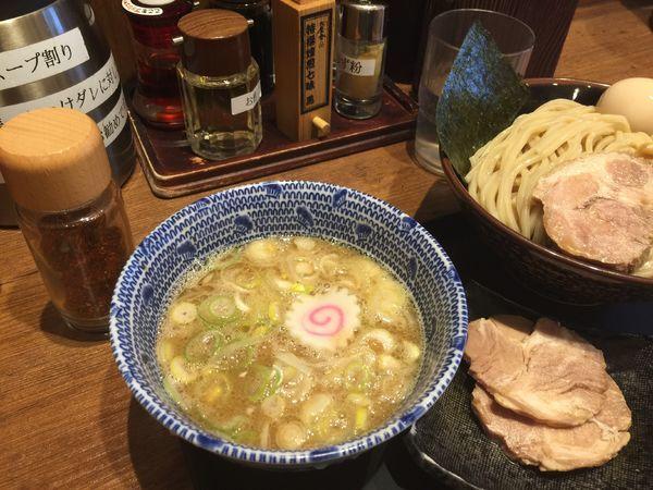 「味玉つけ麺」@舎鈴 桶川店の写真