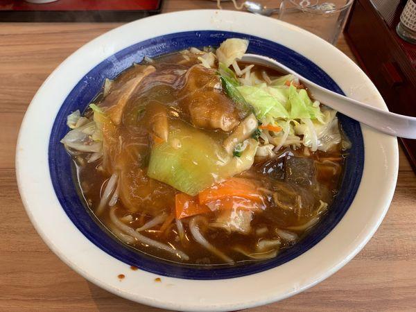 「五目ラーメン大盛り麺麺硬め」@8番ラーメン 小松店の写真