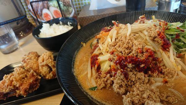 「野菜たっぷり坦々タンメン」@味噌屋蔵之介 東松山店の写真