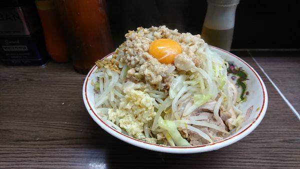 「子ぶた 汁無し」@ラーメン二郎 横浜関内店の写真