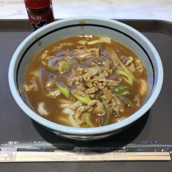 「カレーうどん(¥430)」@キッチンオリジン 雑色店の写真