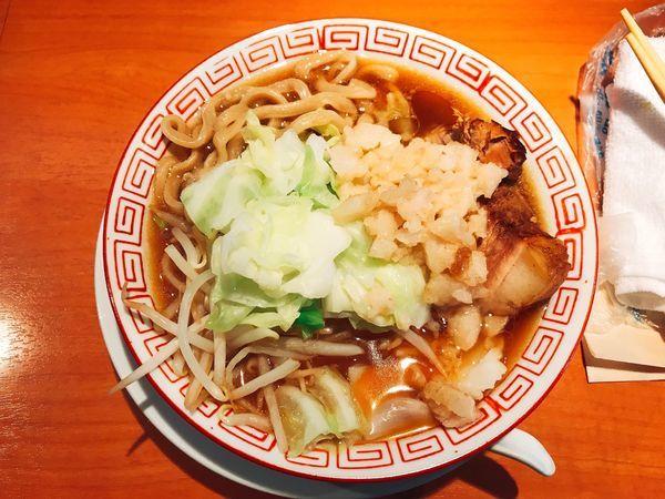 「二郎インスパイアハーフ」@食堂酒場 Graciaの写真