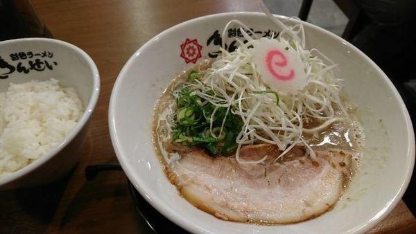 「和風醤油豚骨」@きんせい 京都拉麺小路店の写真