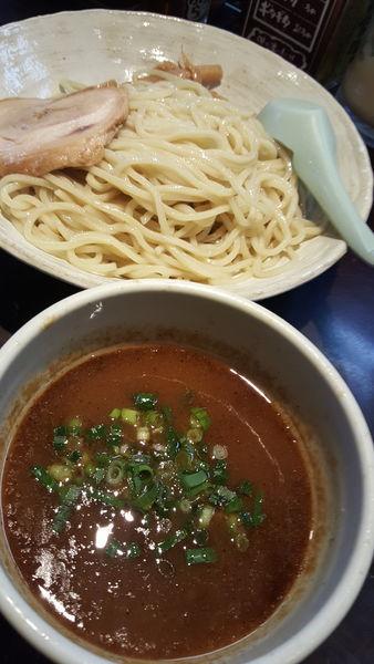 「魚介系濃厚つけ麺大盛320g」@旨みこってりらーめん鐵TETSUの写真