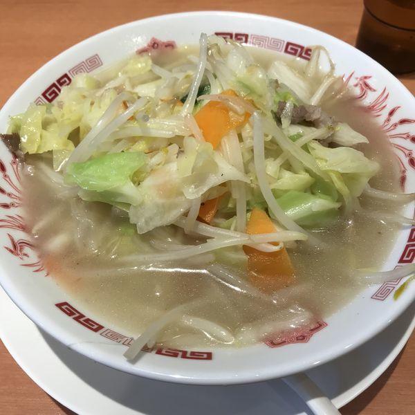 「野菜たっぷりタンメン(麺少なめ)(¥490)」@日高屋 雪が谷大塚南口店の写真