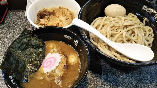 「濃厚豚骨魚介つけ麺」@Noodle Studio SYU 周の写真