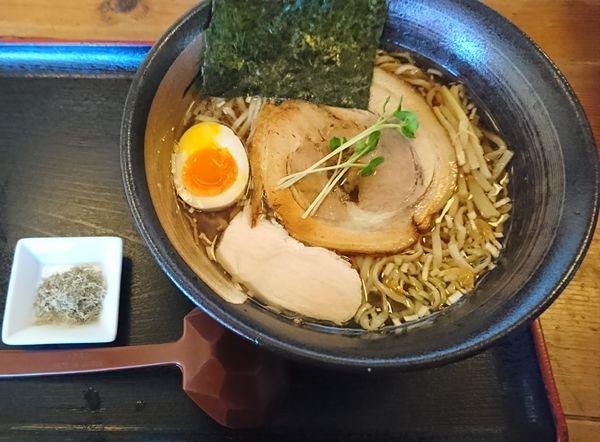 「凪らーめん(醤油)780円」@和風らーめん 凪の写真