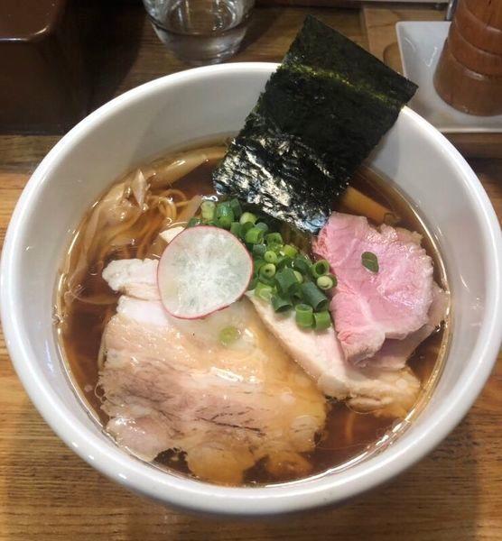 「[限定] 本気の中華そば(醤油で)¥1000」@麺庵 小島流の写真