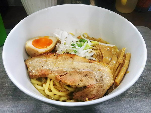 「汁なし醤油大650円」@麺丼Dining 夢者の写真