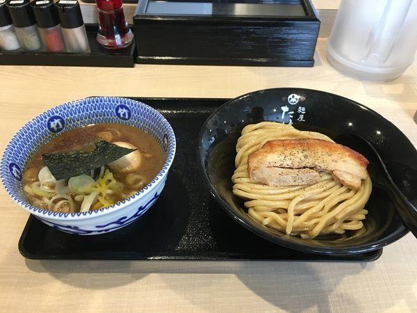 「味玉魚介豚骨つけ麺小930」@麺屋 たけ井 R1号店の写真