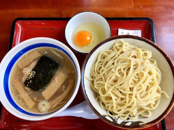 「あつなま塩味(温盛り¥730+生卵¥50)¥780」@武蔵村山大勝軒の写真