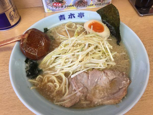 「ネギラーメン(小・醤油)¥700」@ラーメン青木亭 戸田店の写真