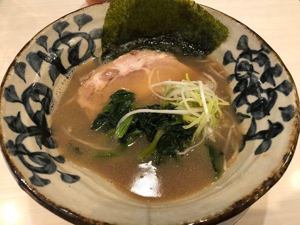 「豚そば 750円 あっさり,細麺」@八の坊の写真