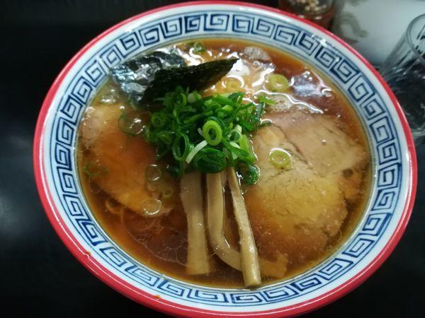 「12/16醤油チャーシュー麺1,180円」@麺処 ら塾の写真