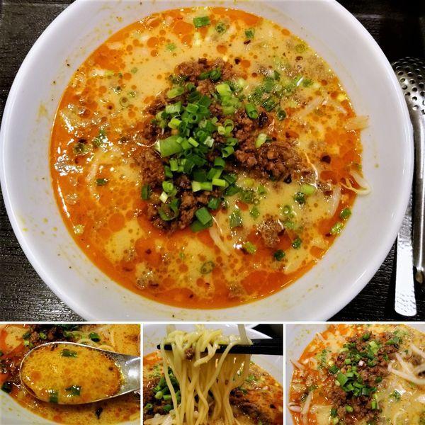 「特製胡麻みそ担々麺 1000円」@中華香彩 JASMINE 口福厨房 日本橋店の写真