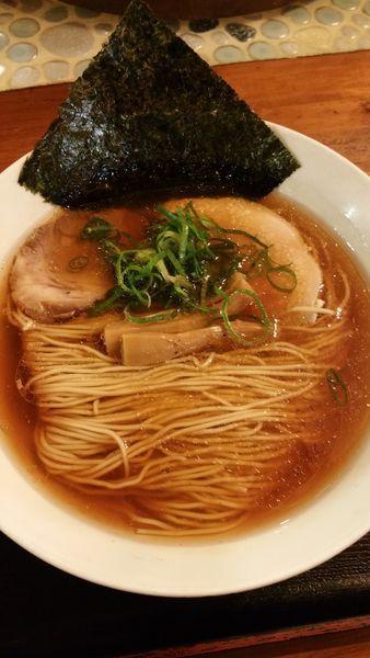 「中華そば+辛あえめん」@麺や食堂の写真