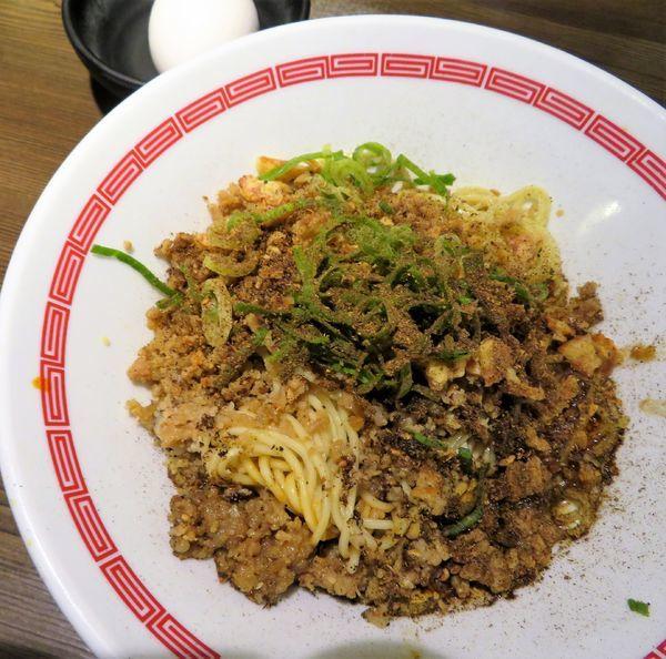 「広島風汁なし担々麺セット(860円)」@らあめん 広の写真