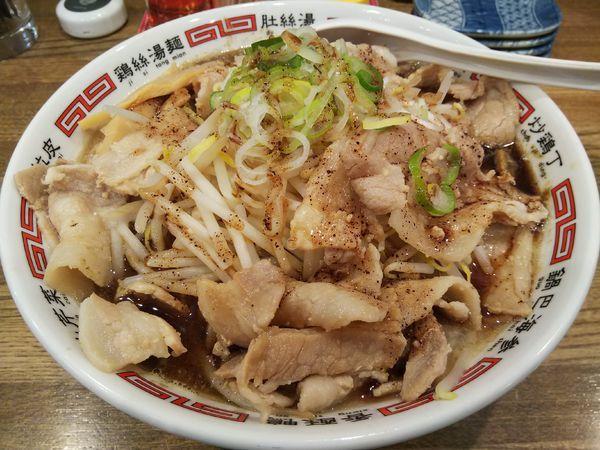 「魚介系すた麺 (麺大盛り:日曜サービス100円⇒40円)」@さくら食堂の写真