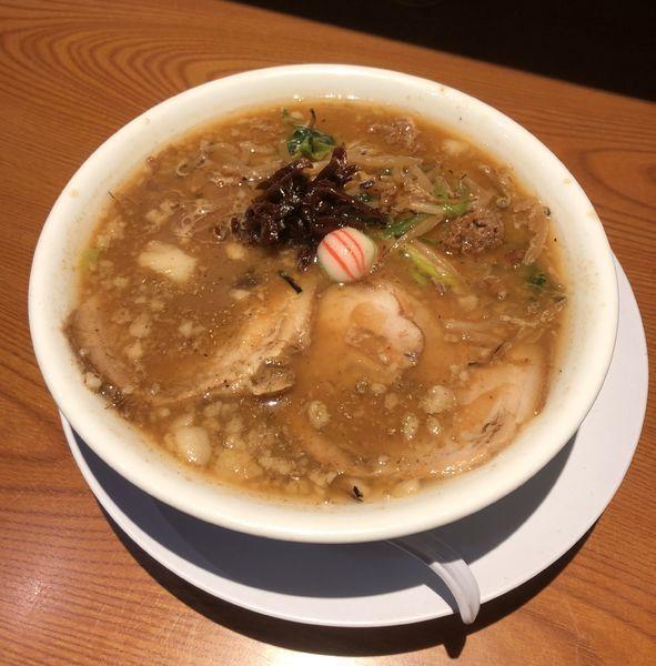 「[冬季限定] 味噌生姜らぁめん ¥900」@らぁめん 生姜は文化。の写真