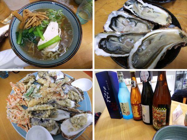 「【限定師走】活大牡蠣蕎麦S活牡蠣+天婦羅など 3000円」@MENYA 食い味の道有楽の写真