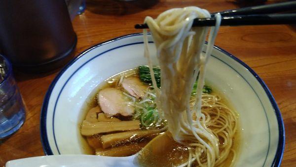 「軍鶏そば」@上州地鶏ラーメン 翔鶴の写真