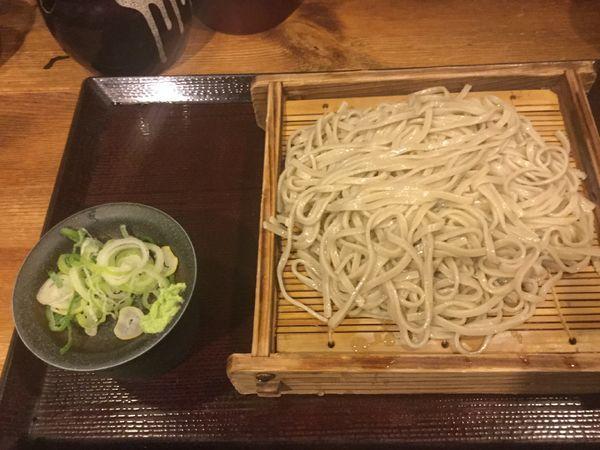 「もりそば(¥290)」@嵯峨谷 神保町店の写真
